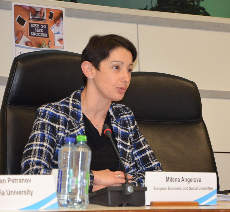 Д-р Милена Ангелова, главен секретар на АИКБ и докладчик на становището